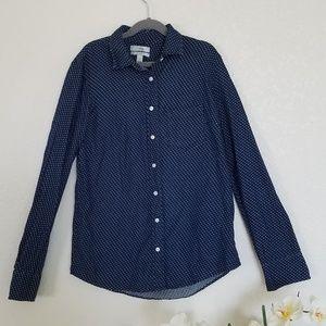 J. Crew womens boys cut button down shirt